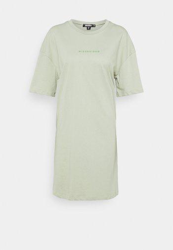 BRANDED TEE DRESS
