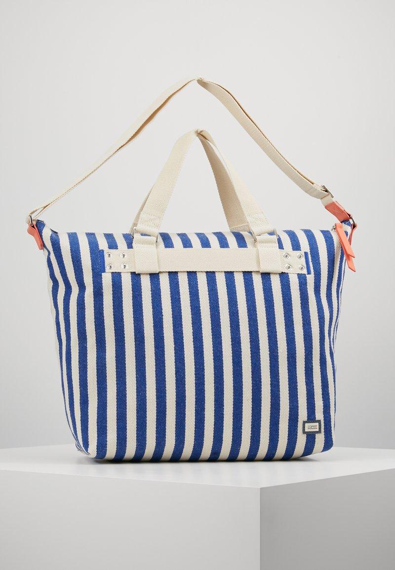 Esprit - TINA TOTE BAG - Shopping bags - bright blue