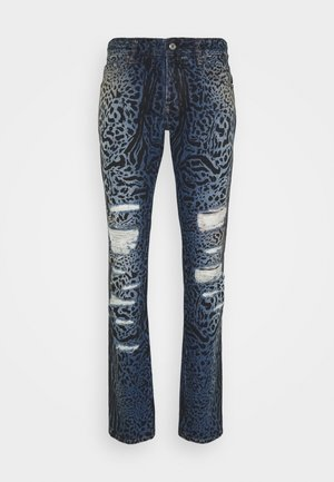 PANTALONE - Flared Jeans - blue denim