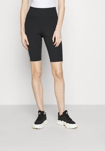 SHORT TIGHTS - Shorts - black