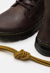 Dr. Martens - COMBS - Lace-up ankle boots - brown - 5