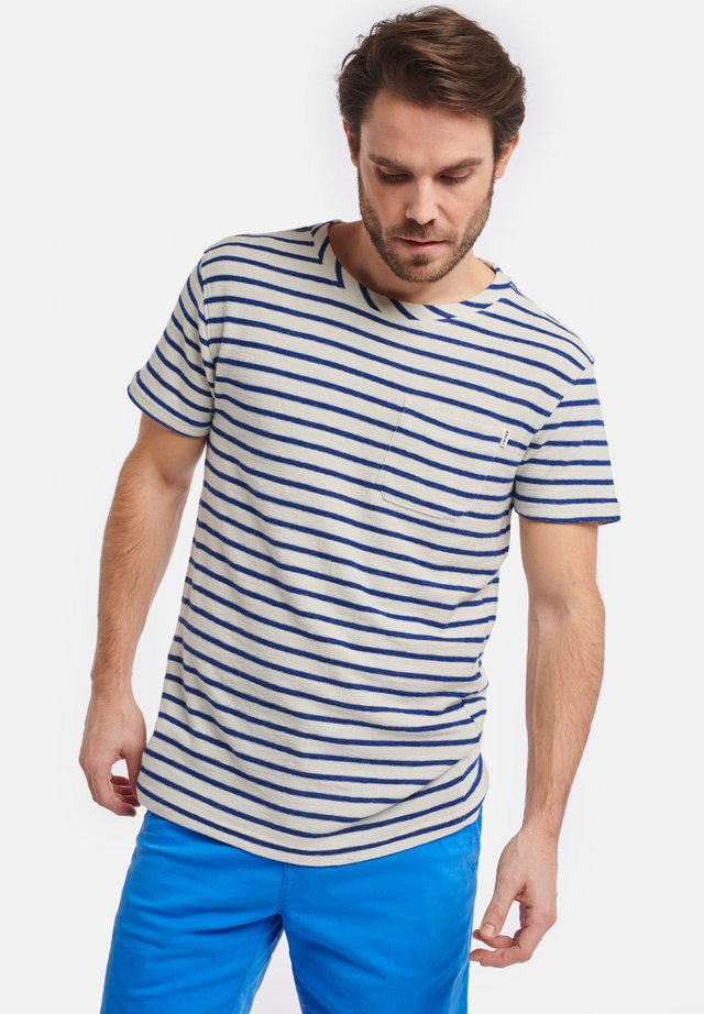 EE BRETON - T-shirt imprimé - soda blue