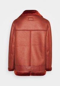 NA-KD - BONDED AVIATOR JACKET - Winter jacket - rust - 1
