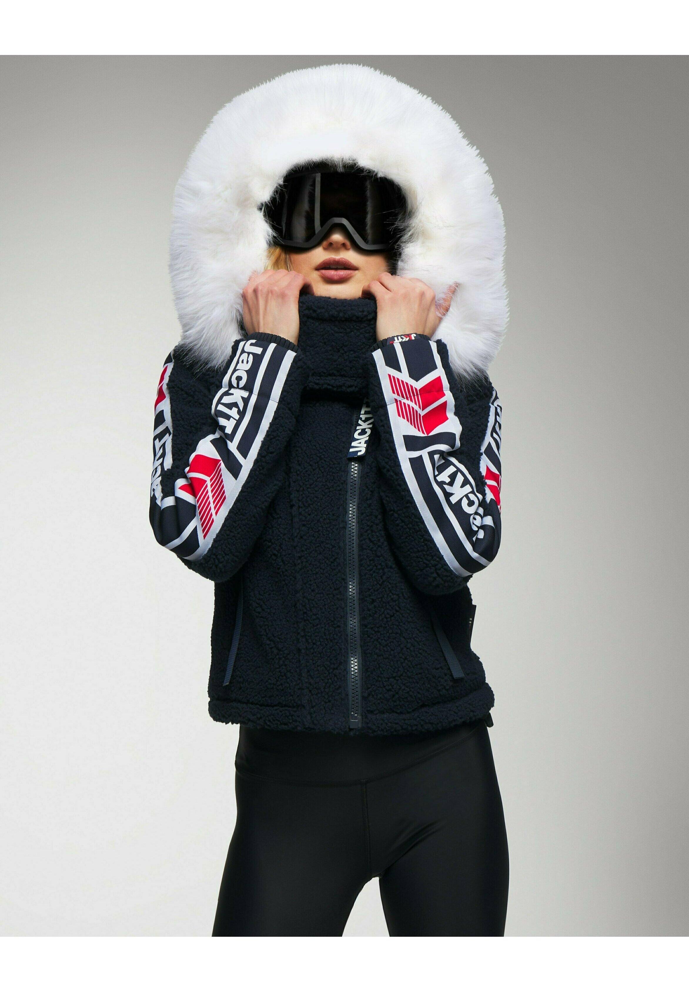 Donna JetStream Luxe Jacket - Felpa con cappuccio