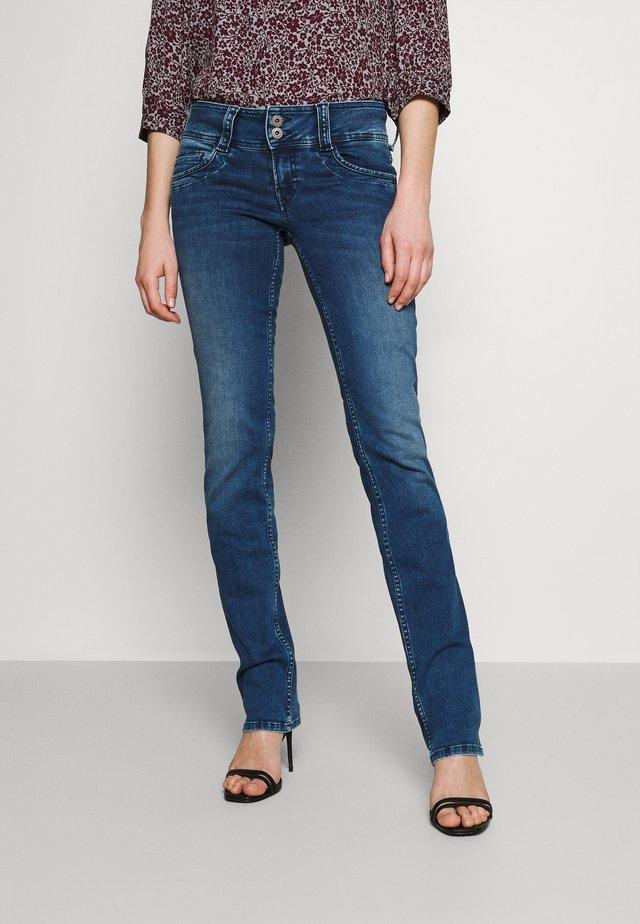 GEN - Jeans a sigaretta - denim