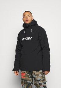 Oakley - INSULATED ANORAK - Snowboard jacket - blackout - 0