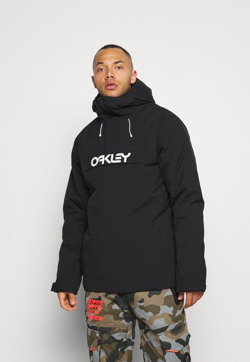 Oakley - INSULATED ANORAK - Snowboard jacket - blackout