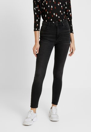 ONLMILA - Jeansy Skinny Fit - black denim