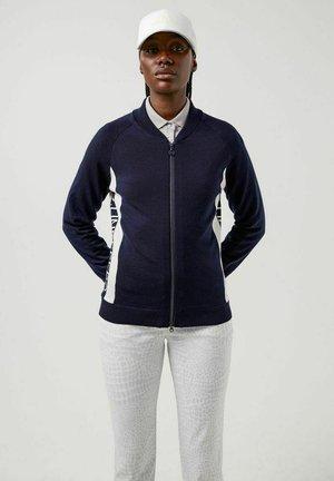 Zip-up sweatshirt - jl navy