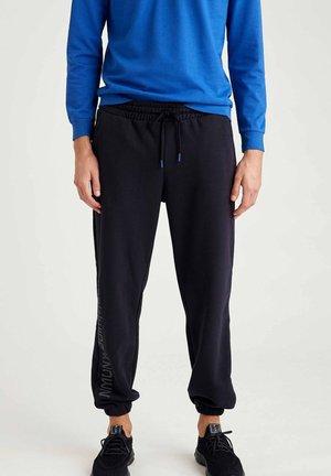 OVERSIZED - Pantaloni sportivi - navy
