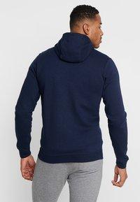 Nike Sportswear - CLUB FULL ZIP HOODIE - Zip-up hoodie - obsidian/white - 2