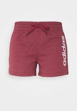 Pantalón corto de deporte - legend red/white