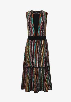 AFRICAN PEARLS - Korte jurk - black