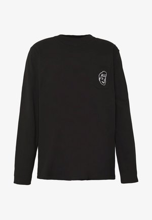 BIG - Long sleeved top - darkest black