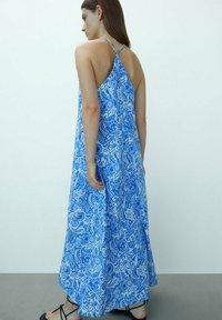 Massimo Dutti - Maxi dress - blue - 1