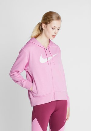 W NK DRY GET FIT FC FZ H ES GX - Zip-up hoodie - magic flamingo/barely rose