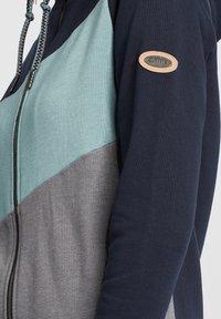 Oxmo - AGGI - Zip-up hoodie - insignia blue - 4