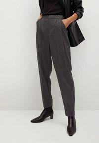 Mango - NAPOLIS - Trousers - gris - 0