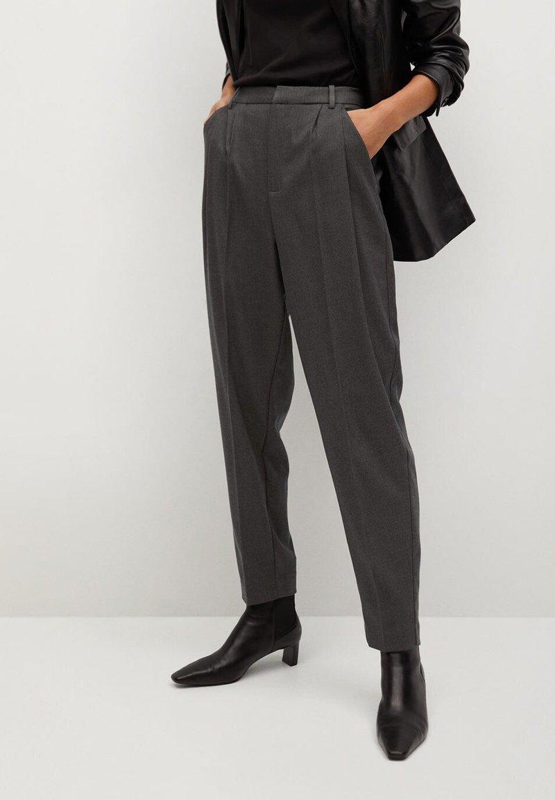 Mango - NAPOLIS - Trousers - gris