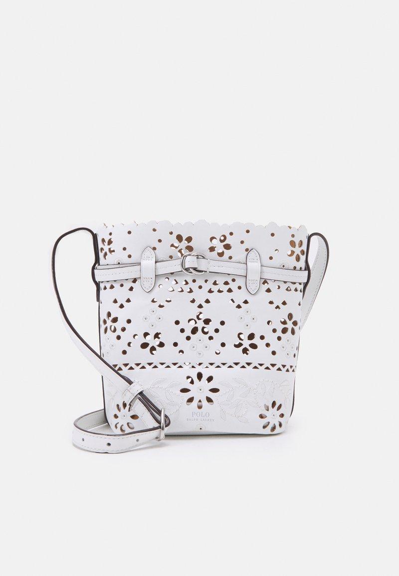Polo Ralph Lauren - EYELET - Across body bag - white