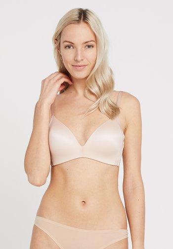 BODY MAKE UP SOFT TOUCH - Triangle bra - neutral beige