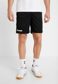 Hummel - CORE SHORTS - Sports shorts - black - 0