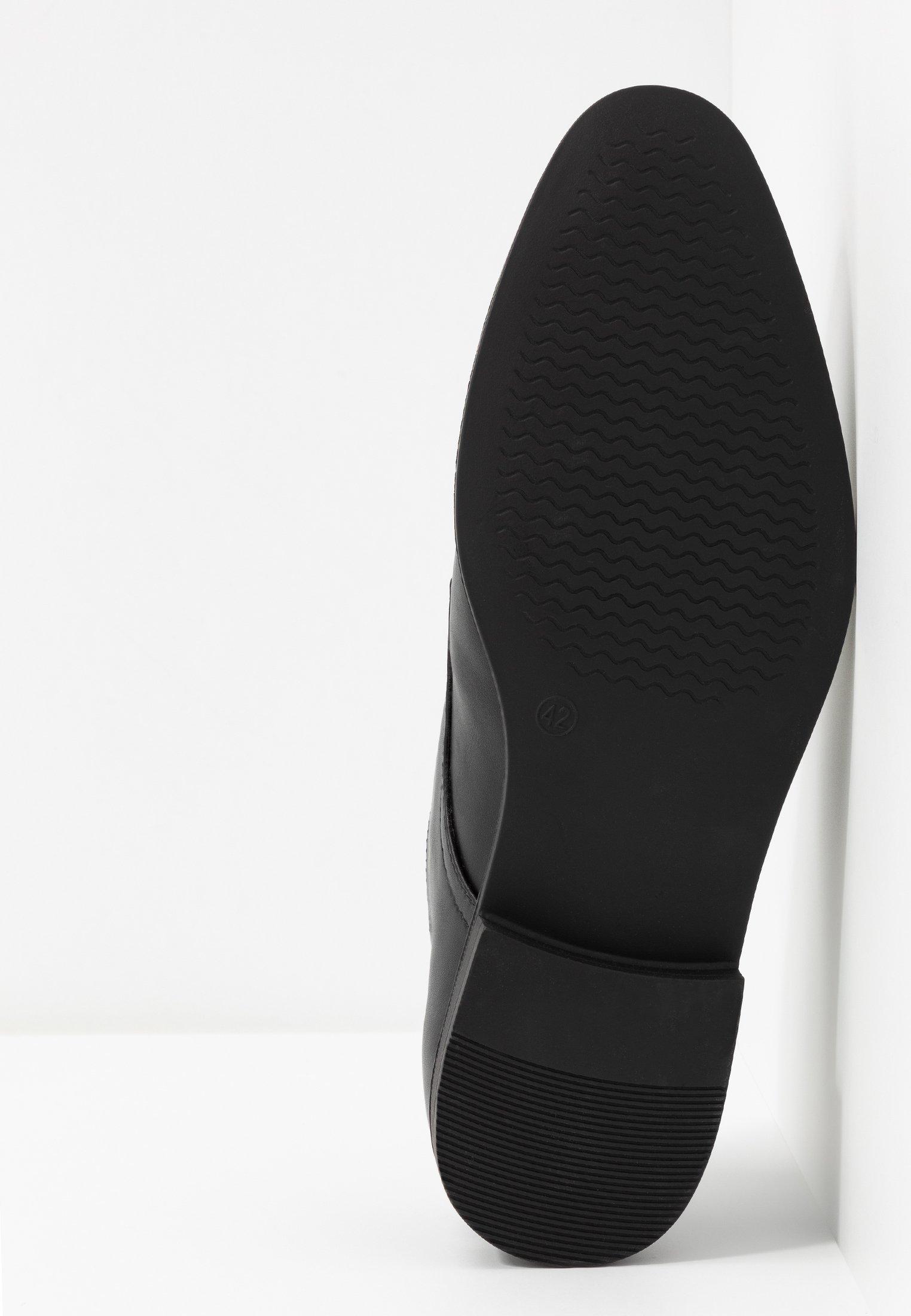 Pier One Slip-ins - black/svart - Herrskor xV3yS