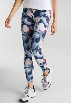 ACTIVE  E DRY - Leggings - navy