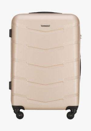 TRAVEL - Wheeled suitcase - beige