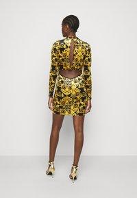 Versace Jeans Couture - LADY DRESS - Shift dress - black - 2