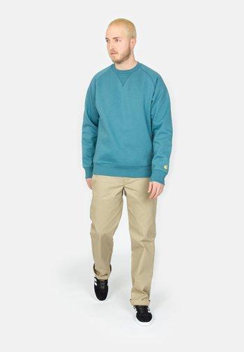 CHASE - Sweatshirt - hydro / gold