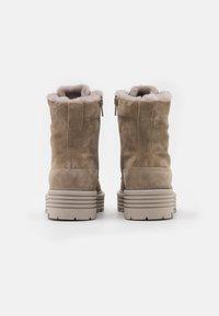 Kennel + Schmenger - ELA - Platform ankle boots - biscuit - 3