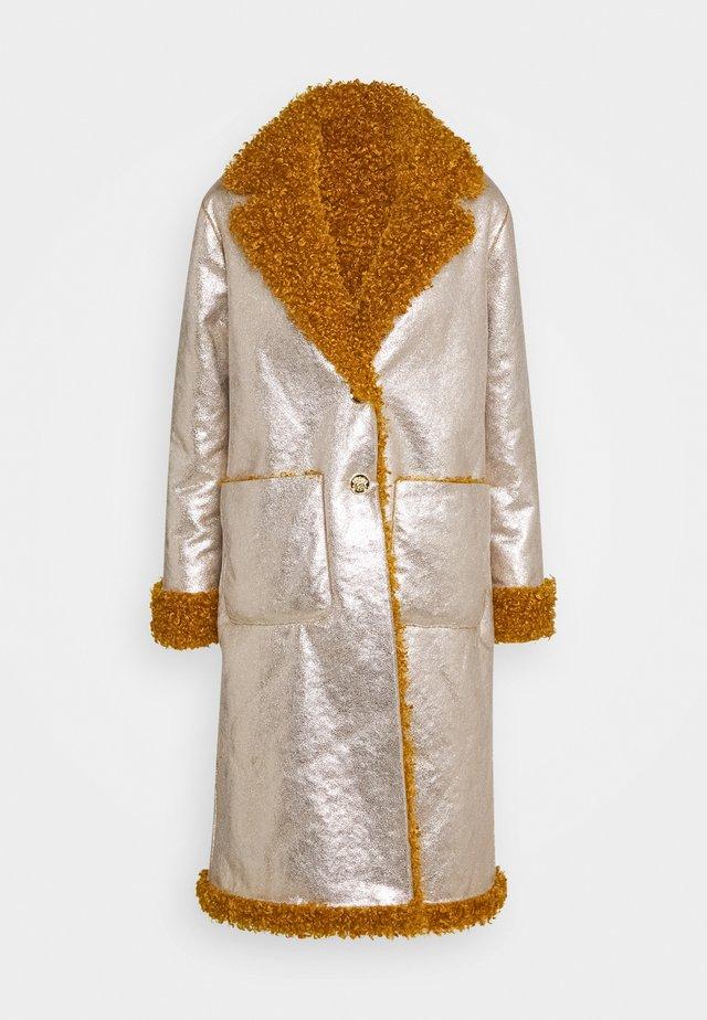 DRACO COAT - Classic coat - senape/oro chiaro