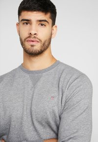 GANT - THE ORIGINAL C NECK  - Sweatshirt - dark grey melange - 4