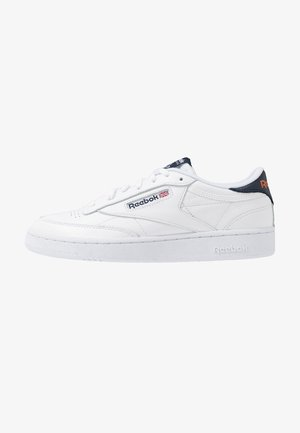 CLUB C 85 - Sneaker low - white/conavy/fire orange