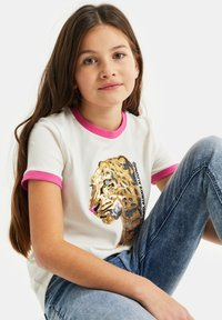 WE Fashion - T-shirts print - white - 1