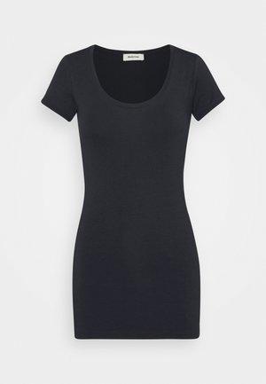 TRICK - Basic T-shirt - navy noir