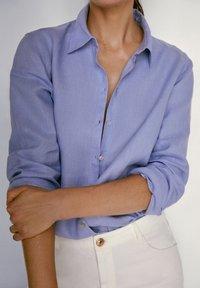 Massimo Dutti - Koszula - light blue - 4