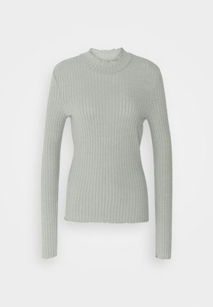 NMBERRY HIGH NECK - Pullover - slate gray