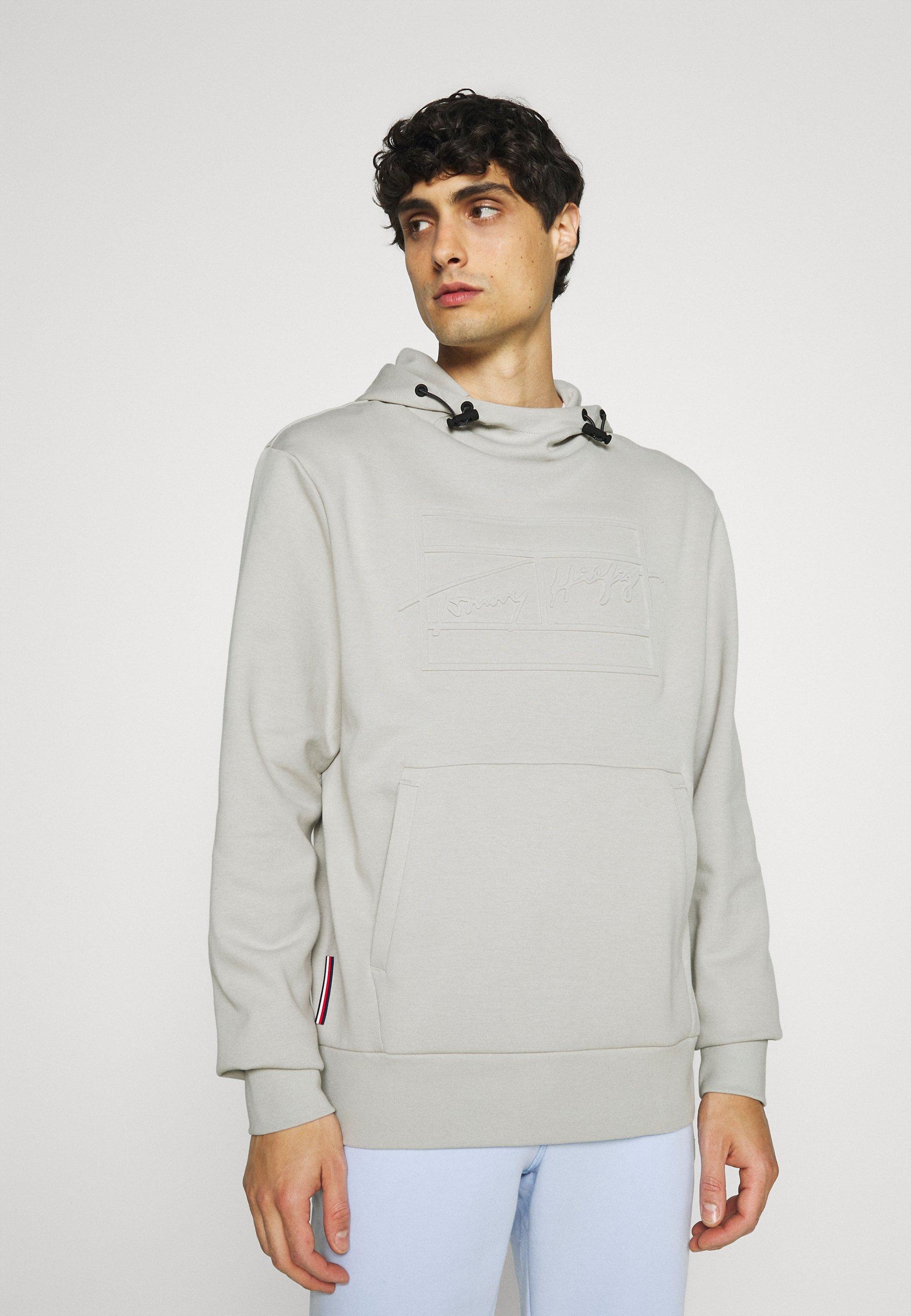 Homme SIGNATURE EMBOSSED HOODY - Sweatshirt