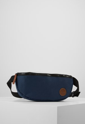 LS HIP BAG - Ledvinka - navy/natural