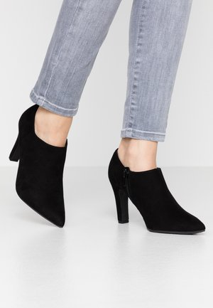 SPINNY - High heeled ankle boots - black