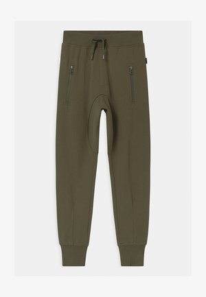 ASHTON - Tracksuit bottoms - vegetation