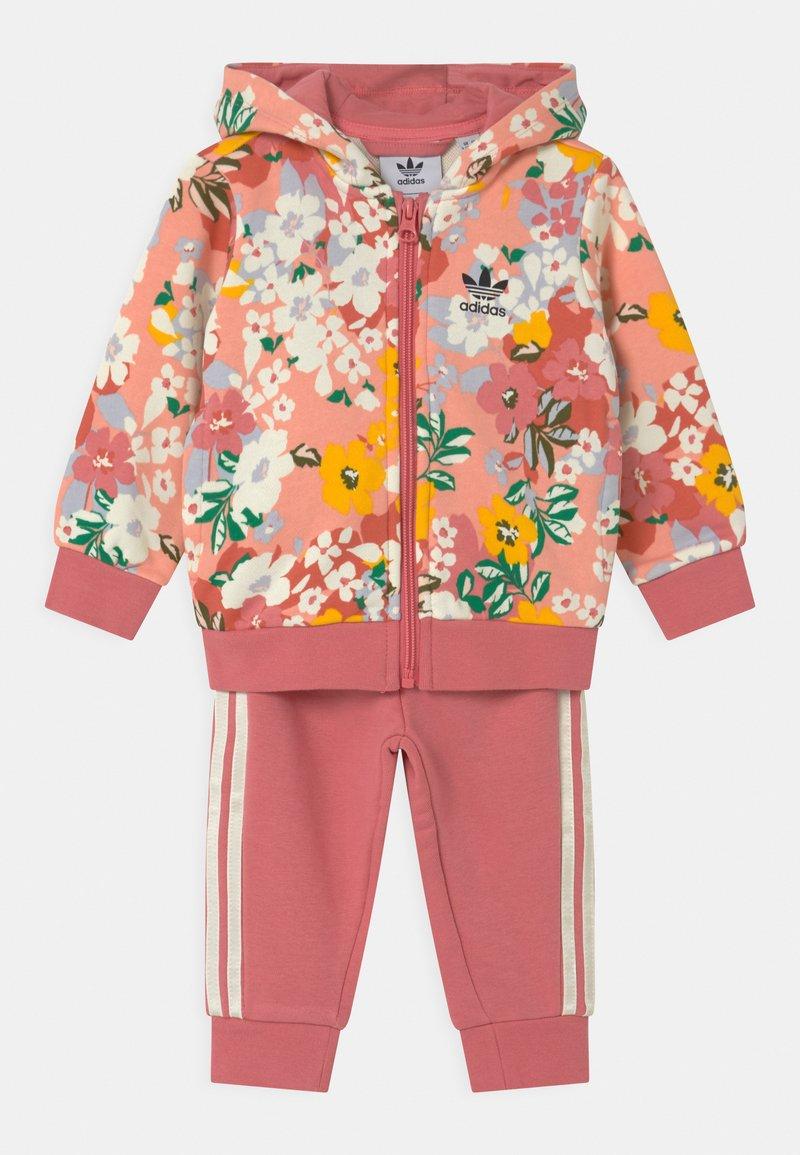 adidas Originals - HOODIE SET  - Chándal - pink/multi coloured