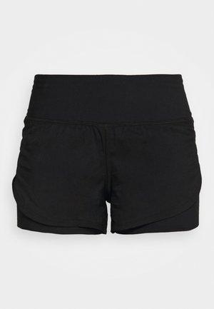 RUSH STAMINA SHORT - Sportovní kraťasy - black