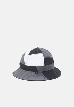 BUCKET MOSAIC UNISEX - Chapeau - black/white/dark grey