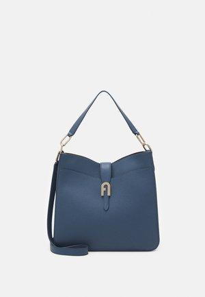 SOFIA GRAINY HOBO - Handbag - blue denim