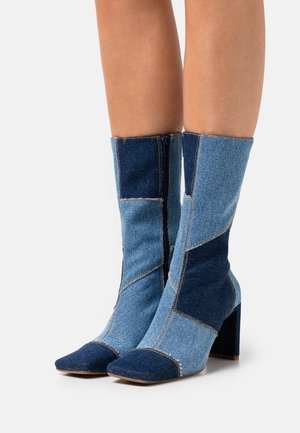 BEAH - Classic ankle boots - demin