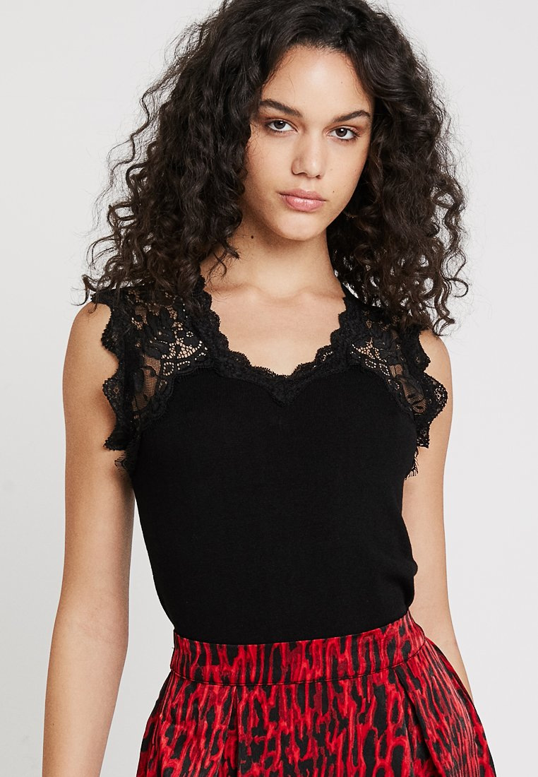 Morgan - MLINA - Débardeur - noir
