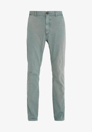 DYE STRETCH - Chino kalhoty - spruce